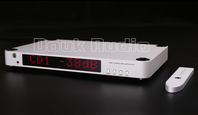 2016 New Douk Audio Hi-End Transistor Pre-Amplifiers Stereo Hi-Fi Preamp_Reference level pre end шорты pre end