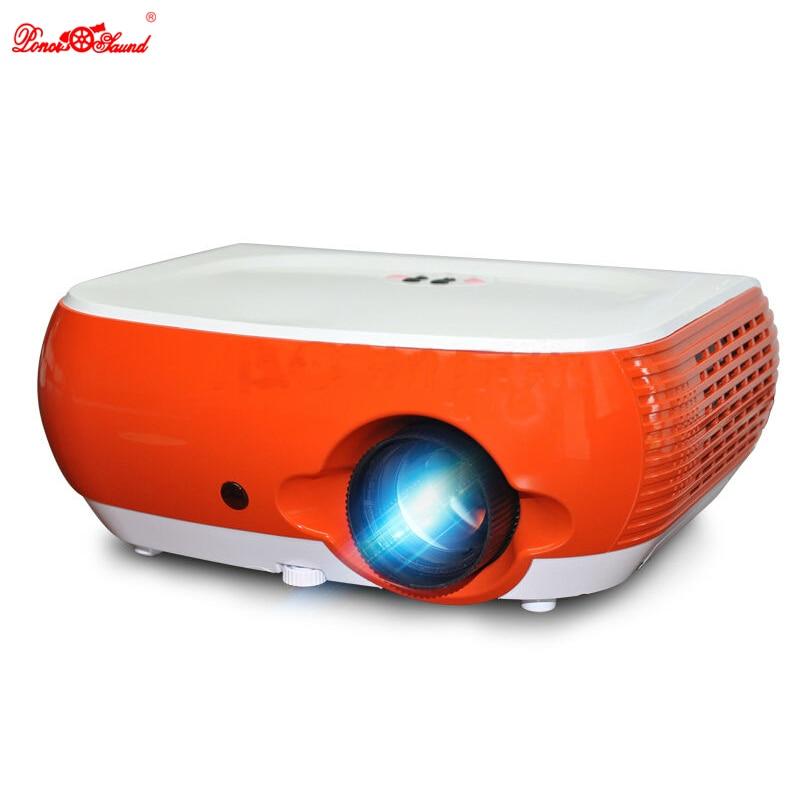 Poner Saund Led Hd Projector 5500 Lumens Beamer 1080p Lcd: Poner Saund Cheap Led Mini Projector Multimedia Video