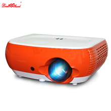 Poner Saund cheap led mini projector Multimedia video Portable Home Theater Cinema Support 1080P PC usb TV Smartphone free gift