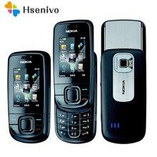 3600 S Восстановленное разблокирована оригинальный 3600 S разблокировать телефон Nokia 3600 Slide мобильный телефон один год гарантии Бесплатная доставка