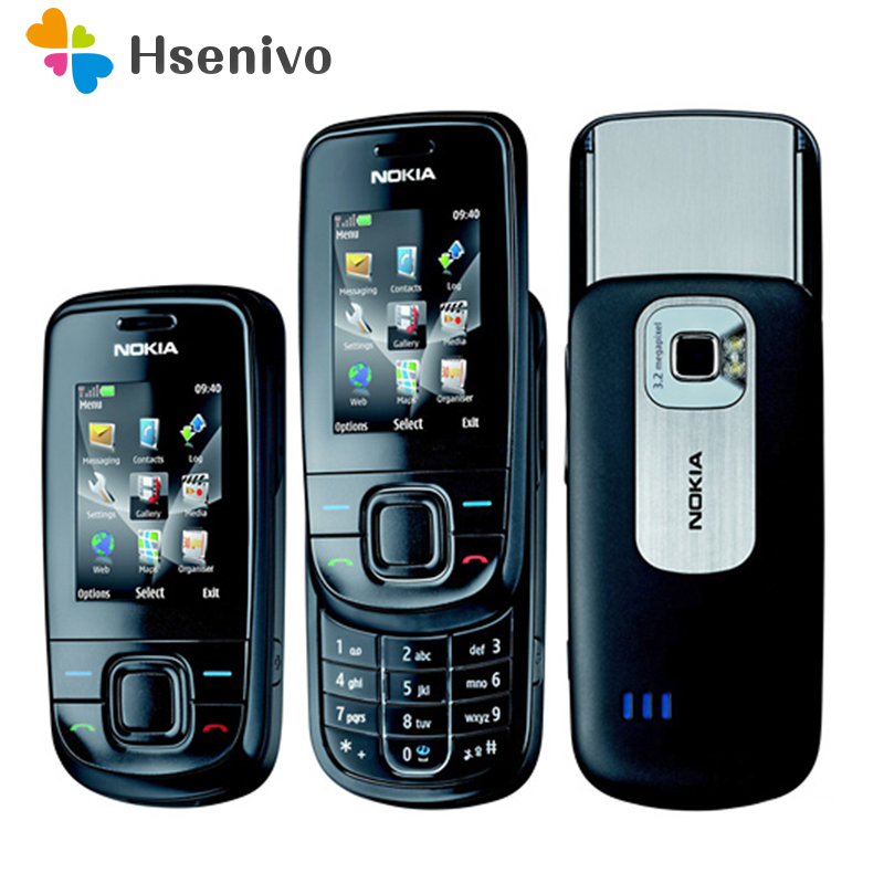 3600s Refurbished Unlocked Original 3600s Unlocked Phone Nokia 3600 Slide Mobile Phone One Year Warranty Refurbished