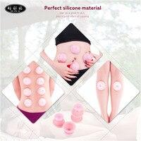 High Quality Small Size 4pcs Set Family Full Body Massage Massgaer Helper Sillicone Vacuum Health Care