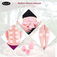High Quality Small Size 4pcs Set Family Full Body Massage Massgaer Helper Sillicone Vacuum Health Care