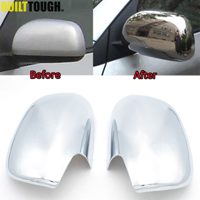 Accessories Fit For Toyota Rav4 2006 2007 2008 2009 2010 2017 Door Side Wing Mirror Chrome Cover Cap Rear View Trim