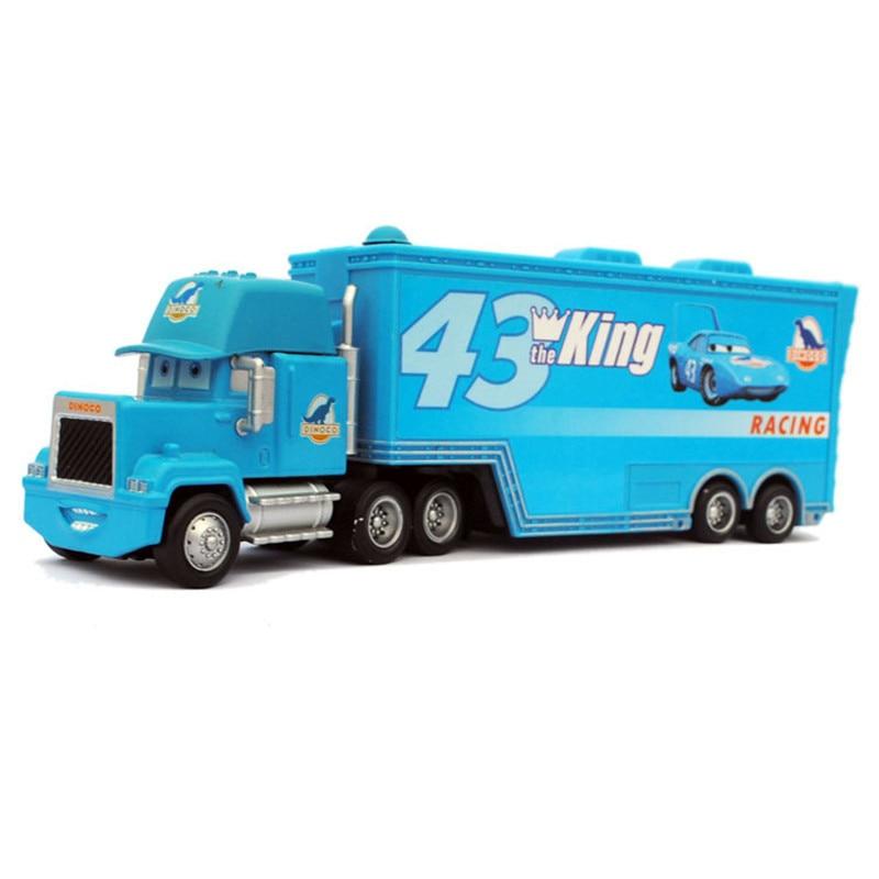 New-Pixar-Cars-2-fire-fighting-truck-95-Loose-Rare-Diecast-143-Metal-Toy-Cars-McQueen-Pixar-Truck-combination-4
