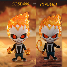 toys for collections 12cm Ghost Rider Cosbaby (S) Bobble-Head/Ghost with Hellfire Chain Bobble-Head