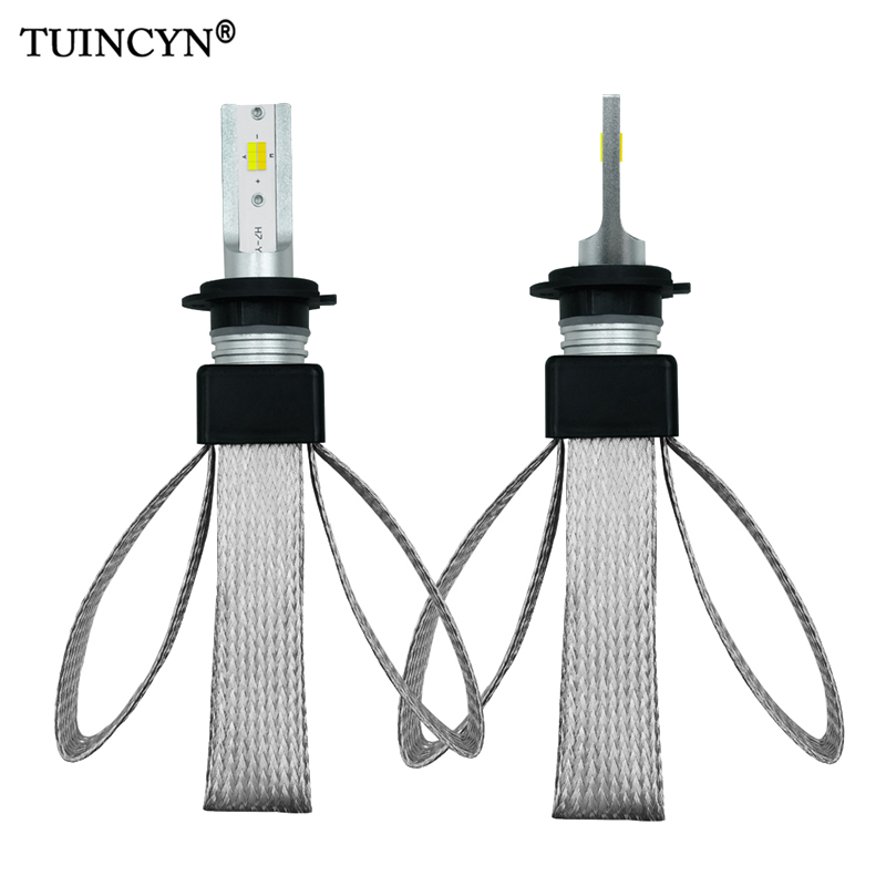 TUINCYN Switchable 3 Color Temperature H1 H7 H8 H9 H11 HB3 9005 HB4 9006 3000K 4300K