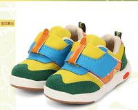 Fashion Cool Boys Girls Baby Sneakers Canvas Cow Muscle Patch Kids Shoes Breathable High Quality Children