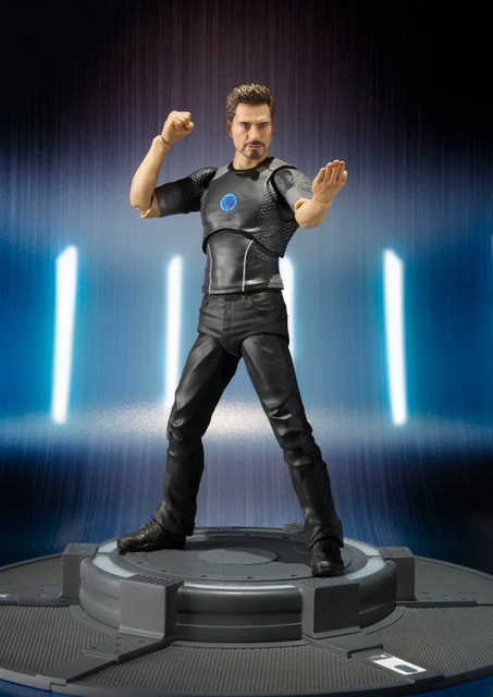 Iron Man Tony Stark Action Figure Spiderman Homecoming 6 Inches  2