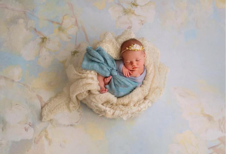 얇은 비닐 사진 배경은 아기를 배경으로 맞춤 설정합니다 사진의 디지털 인쇄 배경 Studio 5X7ft F-1508