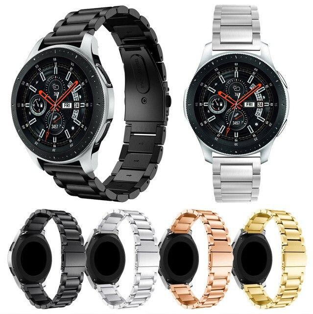 Susenstone 2019 ремешок для часов класса люкс из нержавеющей стали ремешок для часов для samsung Galaxy Watch 42 мм/46 мм горячая распродажа