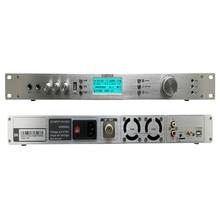 Профессиональный T50M 0-50 Вт Регулируемая мощность fm-радио передатчик 87-108 МГц