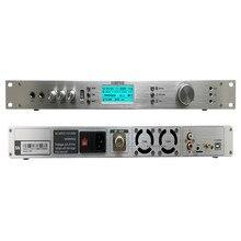 Профессиональный T50M 0-50 Вт Регулируемый Мощность FM радио эфир передатчик 87-108 мГц