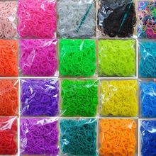 Ткацкий браслет из резиновых полос для детей или волос Радужный резиновый ткацкий браслет сделай сам игрушки Рождественский подарок