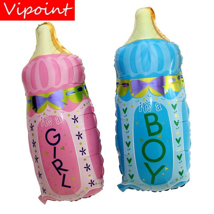 FESTA VIPOINT 80x44 cm rosa azul feeding-bottle balões foil casamento evento festival da festa de aniversário do dia das bruxas natal HY-34