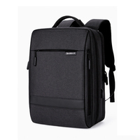 Business Men Backpack 17 Inch 15.6 Laptop Male Backpacks USB Charging Waterproof Bagpack Women Travel Notebook Student Back Pack