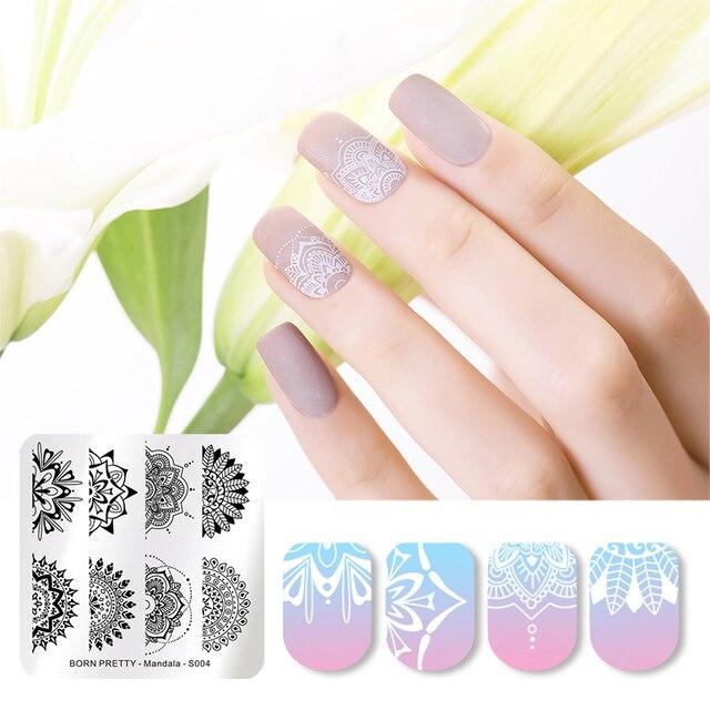 Aliexpress.com : Buy BORN PRETTY Mandala Floral Stamping Template ...