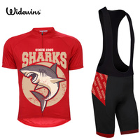 sharks men Cycling Jersey Charges Short Sleeve Bicycle Sports Cycling Jerseys Summer red Cycling Clothes China 5168