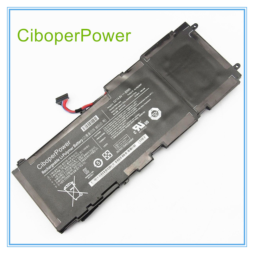 14.8V 80WH New Original Laptop Battery AA-PBZN8NP For NP-700 series Rechargeable Replacement Batteries Free shipping original new for nihon kohden pvm 2700 pvm 2703 pvm 2701 sb 201p x076 monitor rechargeable battery 12v 3700mah free shipping