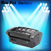 cheap stage light 8 eyes led moving head effect light led spider mini beam moving head dj lights for bar