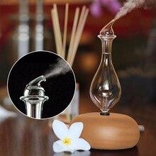 Difusor aromaterapia em vidro produção de partículas suspensas por projecção formato gota