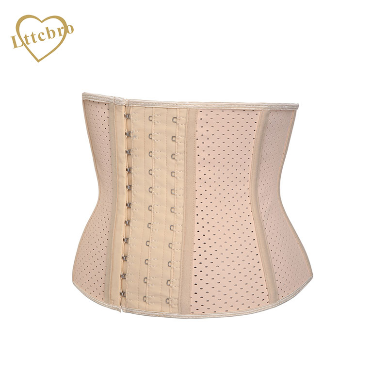 ee2aea50ff90a Latex Short Torso Waist Trainer Corset for Weight Loss Underbust Workout  Hourglass Body Shaper High 24CM 9 Steel Boned-in Bustiers   Corsets from  Underwear ...