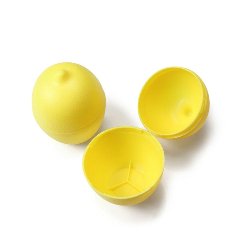 5 x Lemon Sealed Crisper Plastic Storage Refrigerator Food fruit (2)