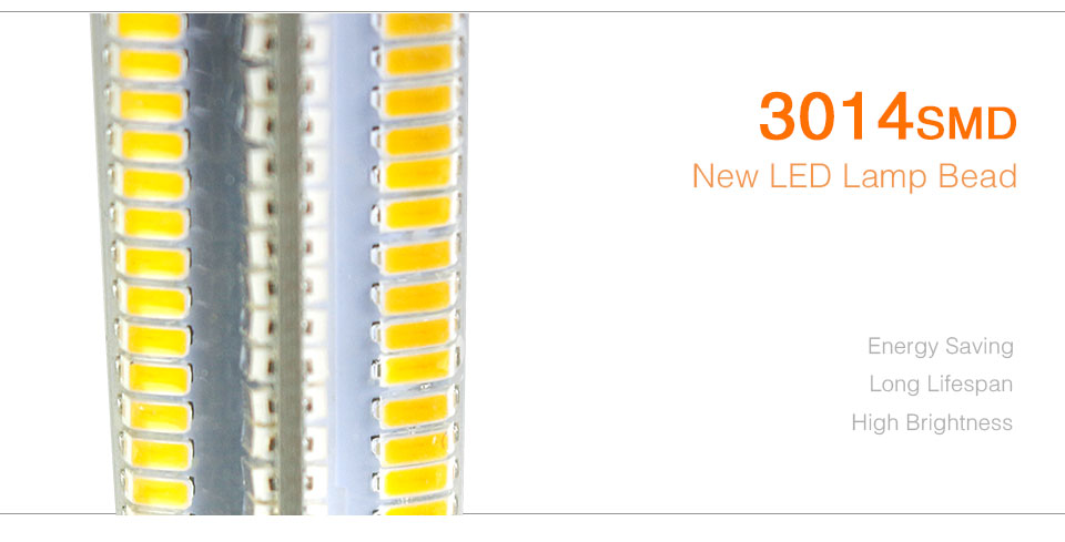 Silicone LED Corn Bulbs E11 E12 E14 E17 G4 G8 G9 LED Bulb Lamp 220V 110V  (18)