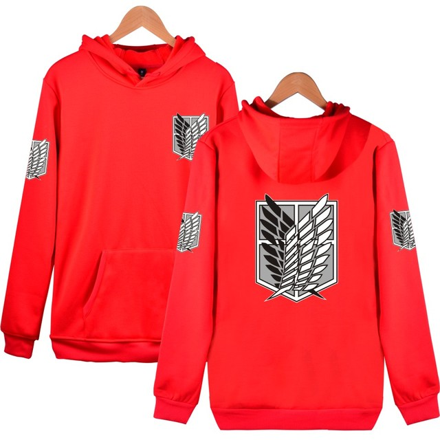 Attack On Titan Cosplay Print Hoodies Sweatshirt