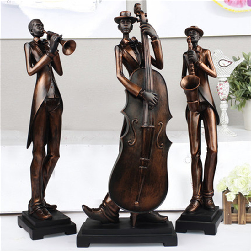 European Style Band Abstraction Figures Statue Creative Colophony Crafts Living Room Decoration G1297European Style Band Abstraction Figures Statue Creative Colophony Crafts Living Room Decoration G1297