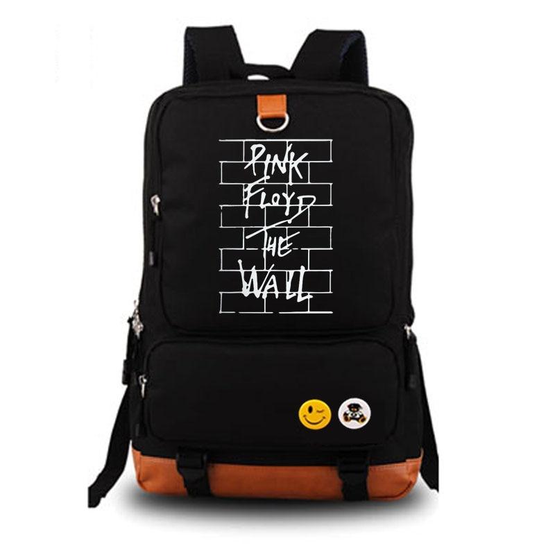 Рок-н-ролл Pink Floyd Рюкзак Школьные сумка рюкзак ежедневно мужские и женские рюкзаки Тетрадь рюкзак