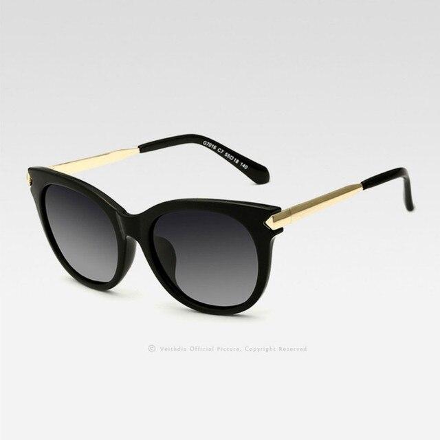 04e857c2dc Women Vintage Large Sunglasses Polarized Cat Eye ladies Designer Sunglasses  Outdoor Eyewear Goggle Oculos