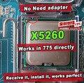 INTEL XEON X5260 3.33 ГГц/6 М/1333 МГц/CPU равна LGA775 Dual-Core E8600 E8400 E8500 CPU, работает на плате нет необходимости адаптер