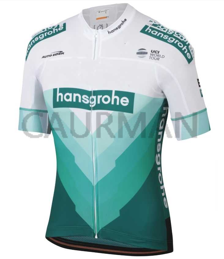 2019 Hansgrohe Cycling Jersey pro Summer Racing Cycling Clothing Ropa Ciclismo Short Sleeve  Bike Jersey Shirt Maillot Ciclismo