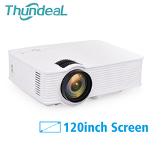 ThundeaL GP9 GP-9 Mini Projector Support 1080P Home Theater Portable Video HDMI USB AV SD LCD LED 3D Beamer Video Proyector
