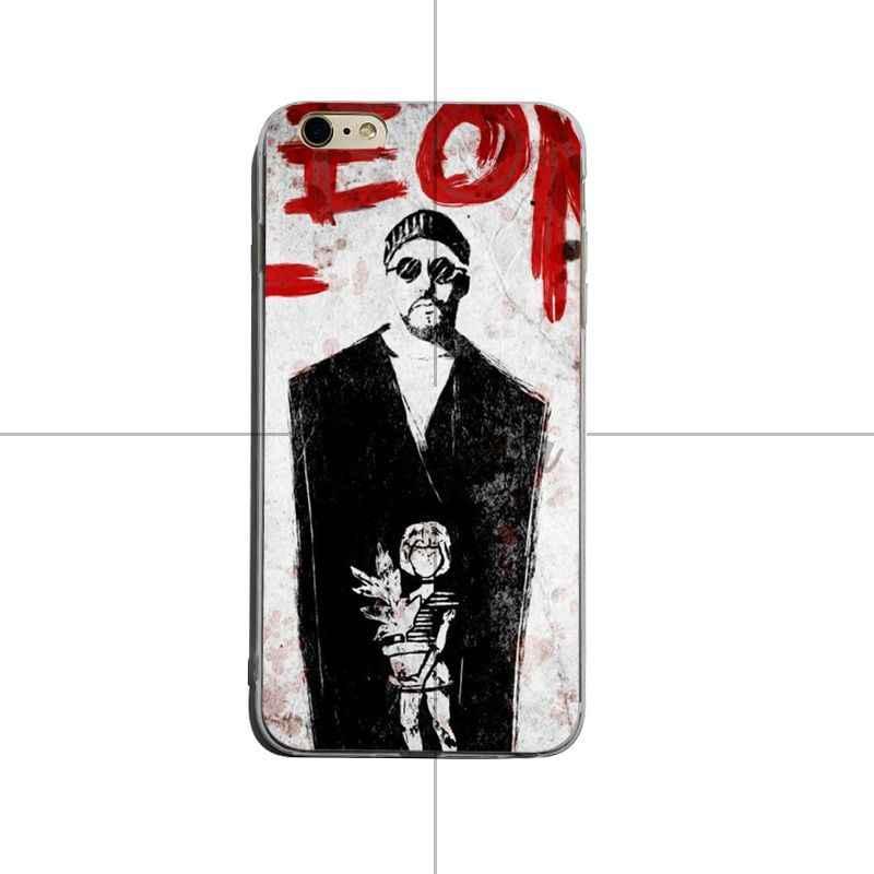 Yinuoda ليون ماتيلدا ناتالي بورتمان ملصق الفيلم جميل لينة tpu الهاتف حقيبة لهاتف أي فون 8 8 زائد 7 7 زائد 6 6 splus X XS XR غطاء