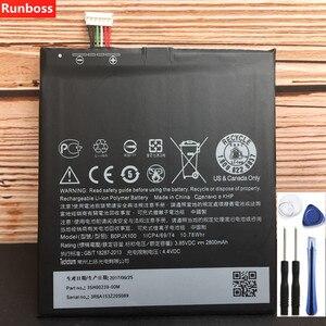Image 1 - 100% nowy oryginalny wysokiej jakości 2800mAh bateria do HTC Desire 830 baterii do telefonów komórkowych