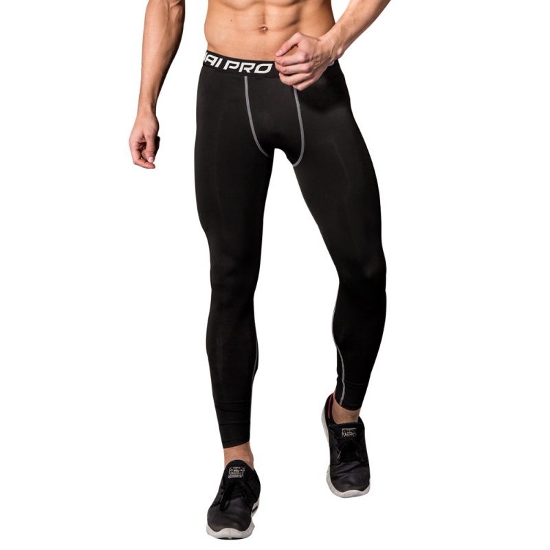 Mens Compression Pants Sport Tights Mens Running Pant Gym Trousers Bodybuilding Jogging Skinny Leggings Sportswear