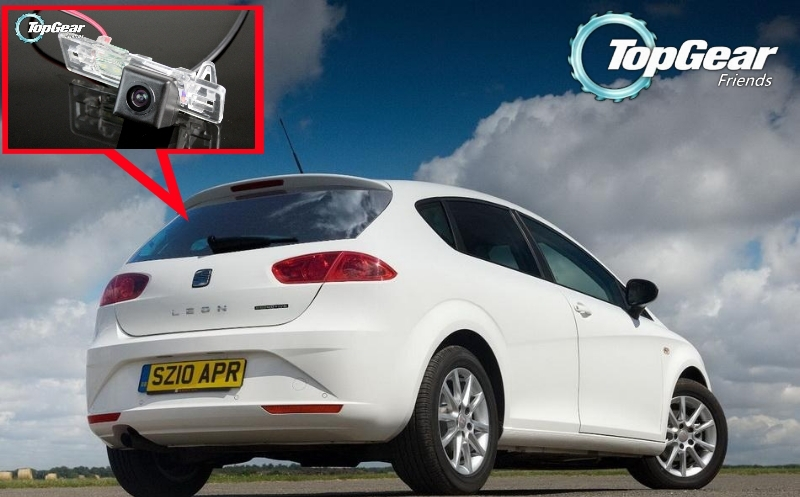 Car Camera For SEAT Leon MK2 2009~2012 High Quality Rear View Back Up Camera For Top Gear Friends to Use  CCD With RCA