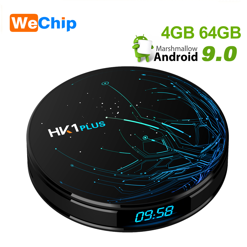 HK1 Plus Smart Android 9.0 TV Box LPDDR3 4GB 64GB Amlogic S905X2 Dual Wifi BT4.0 H.265 4K HK1Plus X2 4GB 32GB Set Top Box|Set-top Boxes| |  - title=