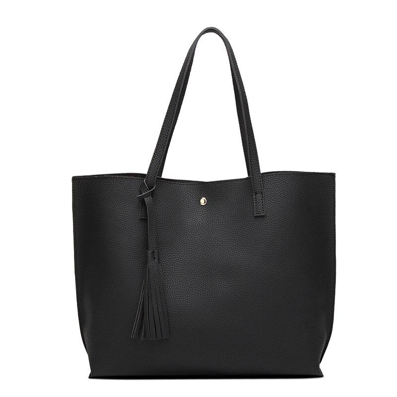 mulheres pu couro bolsas de Exterior : Abra o Bolso