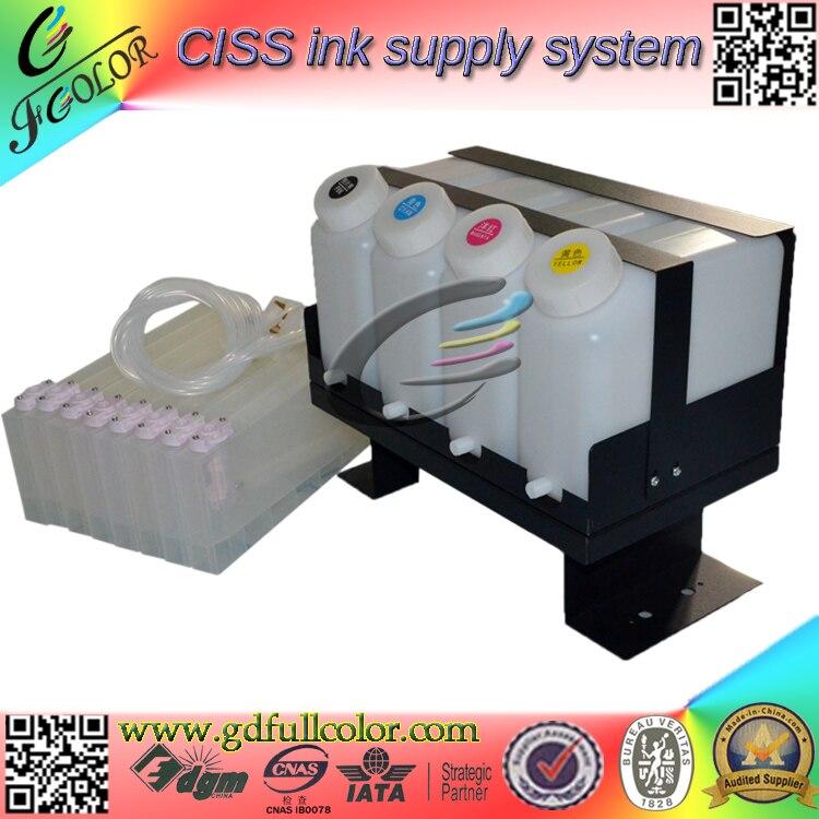 Duoble 4 цвета CIS BS3 СНПЧ для CJV30 130 чернильная система для навального принтера с постоянным чипом