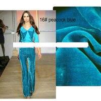 Violet 11112 Back Fabric Is Silk Fabric Hair Is Viscose 190gsm Silk Velvet Fabric
