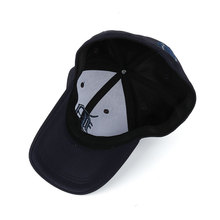 Embroidered Letter D and Baseball Fitted Baseball Cap