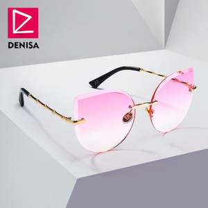 DENISA Women Sunglasses Cat Eye Girls Sun Glasses Ladies