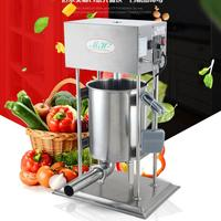 18 25L Automatic Sausage Meat Stuffer Stainless Steel Vertical Sausage Filling Machine Electric 110v 220v Meat
