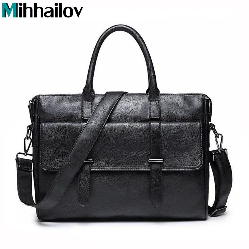 Laptop Shoulder Bag for Male Crossbody Netbook Handbag Men Business Bag Casual Tote Unique Design Case