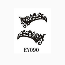 1PCS Black Lace Eyelid Tattoos Sticker Tape Technical Sexy Eye Tattoos Sticker Tapes Temporary Tattoos Eye Makeup Tatouage