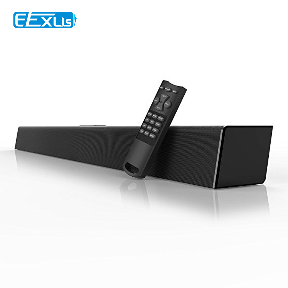 Soundbar 2018 Version 80 Watt 38-Inch 6 Drivers Wired and Wireless Home Theater Surround Sound Speaker for TV