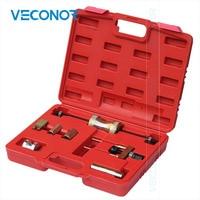 7PCS VAG TDI Diesel Engine Injector Puller Removal Tool Set Kit For VAG TDI VW Audi With Plastic Insert Designed Case
